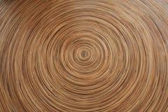 Okręgu drewna tło Obraz Royalty Free