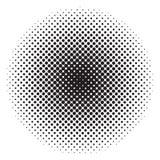 Okręgu Halftone twój tło abstrakcjonistyczny projekt ilustracji