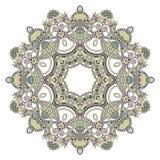 okręgu koronki ornamentu ornamental ornament Zdjęcia Stock