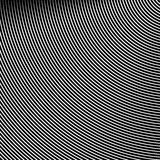Okręgu wzór z dynamicznymi, nieregularnymi liniami, Geometryczna kurenda ilustracja wektor