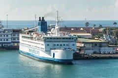 Okrętu szpitalnego Afryka litość w Toamasina, Madagascar Obrazy Stock