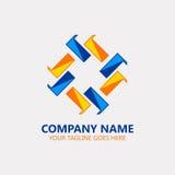 Okrąg budowy logo Zdjęcia Stock