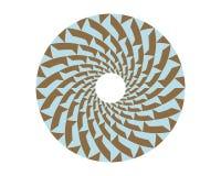 okrąg deseniowy v2 Obrazy Royalty Free