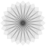 Okrąg geometryczny Zdjęcia Royalty Free