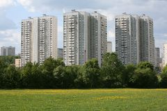 okręg mieszkaniowy Obraz Stock