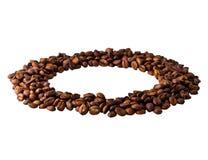 Okrąg od Kawowych fasoli Zdjęcie Stock