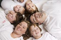 okrąg rodzina Zdjęcie Royalty Free