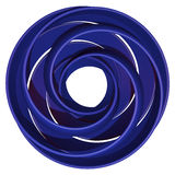 Okrąg spirala Fotografia Royalty Free