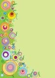 okrąg wiosna ilustracja wektor