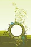 okręgu abstrakcjonistyczny ornament Zdjęcia Royalty Free