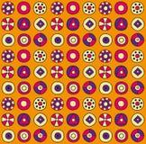 okręgu abstrakcjonistyczny wzór Zdjęcie Royalty Free