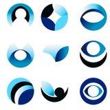 Okręgu abstrakta ikona Obrazy Royalty Free