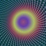 okręgu fractal Fotografia Royalty Free