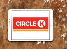 Okręgu K prowiantowy logo Fotografia Stock