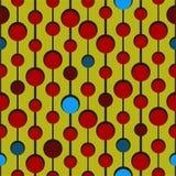okręgu kolorów deseniowy target2506_0_ Zdjęcia Royalty Free