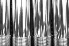 Okręgu metalu tubka Fotografia Stock