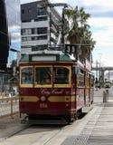 Okręgu tramwaj, Melbourne Zdjęcia Royalty Free