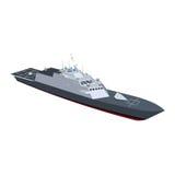 Okręt Marynarki Fotografia Stock