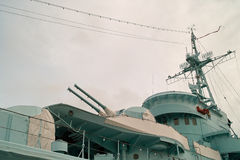 Okręt wojenny. Zdjęcie Stock