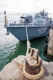 Okręt wojenny Zdjęcia Royalty Free