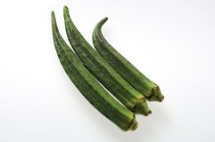 Okra Stock Photo