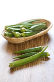 Okra Stock Photography