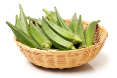 Okra royalty free stock images