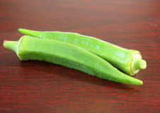 Okra Royalty Free Stock Photo