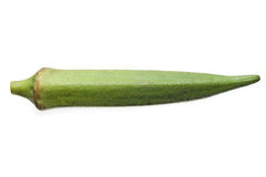 Okra isolated Stock Images