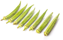 Okra Or Ladies Fingers Vegetables I Royalty Free Stock Photos