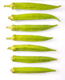 Okra Or Ladies Fingers Vegetables IV Royalty Free Stock Photos