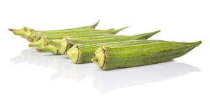 Okra Or Ladies Fingers Vegetables IX Royalty Free Stock Image
