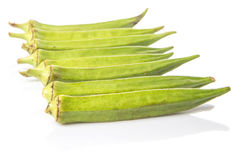 Okra Or Ladies Fingers Vegetables VIII Royalty Free Stock Photos