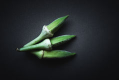 Okra or Lady's Fingers Royalty Free Stock Photo