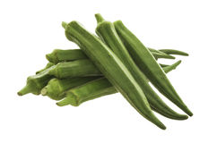 Okra, Lady's Finger Royalty Free Stock Photos
