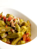 Okra stew Royalty Free Stock Photo