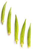 Okra Vegetables IV Royalty Free Stock Image