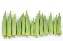 Okra Royalty Free Stock Image