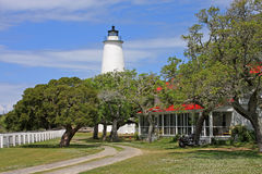 Okracoke Lighthouse Royalty Free Stock Photography