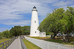 Okracoke Lighthouse Royalty Free Stock Images