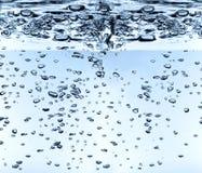 określenie wysokości waterdrops Zdjęcia Stock