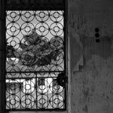 okregów drzwiowy metalu wzór Obraz Royalty Free