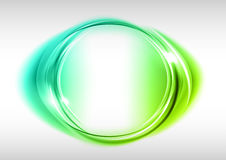 okrąg zieleń Zdjęcie Royalty Free