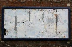 okropne bilboard Fotografia Royalty Free