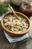 Okroshka soup Royalty Free Stock Photo