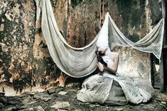 okrutna kobieta Obraz Royalty Free