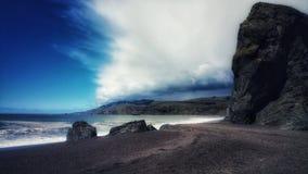 Okrutnie burz chmury Obrazy Stock