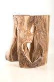 okrzesany drewno Zdjęcia Stock