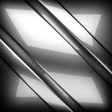 Okrzesany metalu tło 3d odizolowywający odpłacający się wideo biały świat Zdjęcie Stock