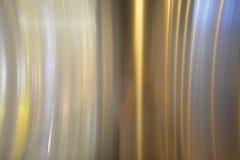 Okrzesany metalu talerz Obrazy Stock